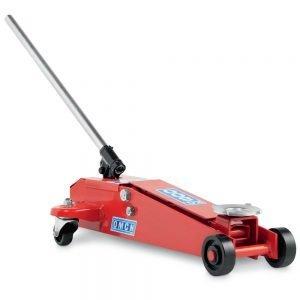 Sollevatore idraulico a carrello Classic Line Rossa serie corta OMCN K/012