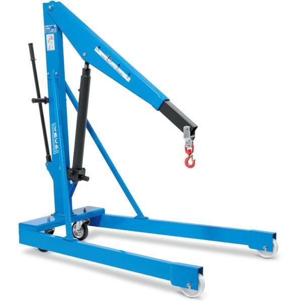 Gru idraulica a carrello con tiranti laterali OMCN 131