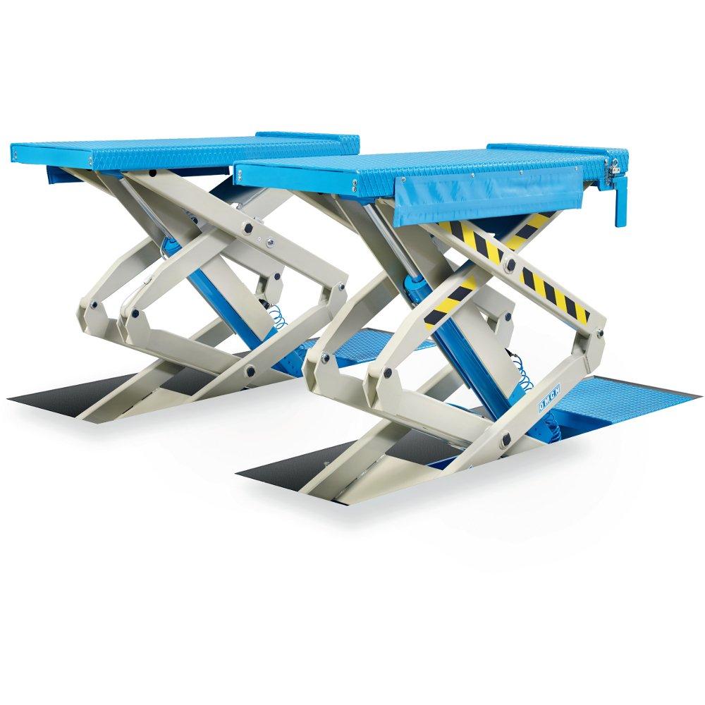 Ponte sollevatore a doppia forbice omcn 703 portata 3000kg for Ponte sollevatore a forbice