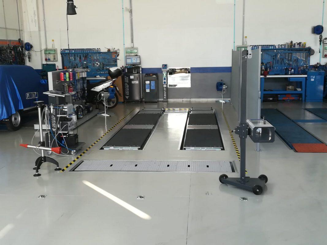 Installazione Centro di Revisione Auto e Moto