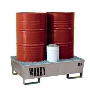 Stoccaggio Olio, Carburanti e Batterie
