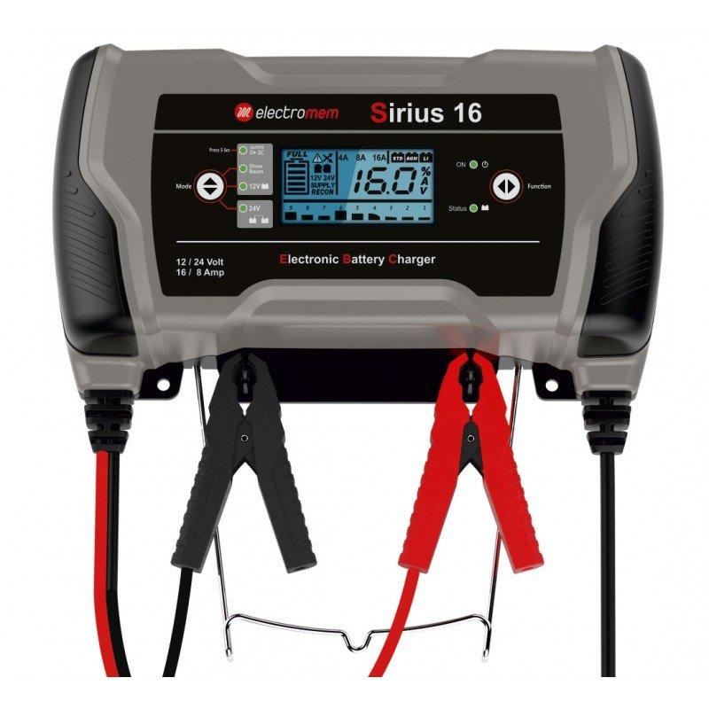 Caricabatterie Electromem Sirius 16